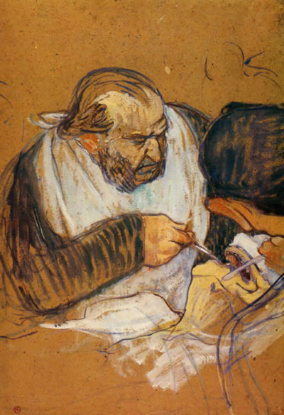 Henri de Toulouse-Lautrec Doctor Pean operates