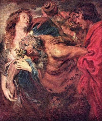 Antoon van Dyck Drunken Silenus