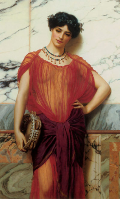 John William Godward Drusilla