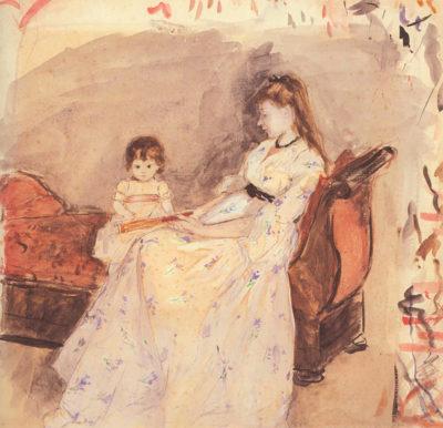 Berthe Morisot Edma