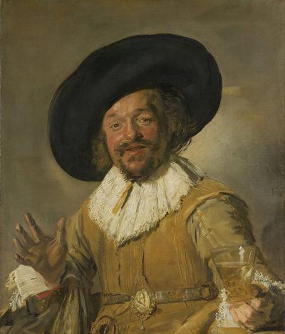 Frans Hals A Militiaman Holding a Berkemeyer