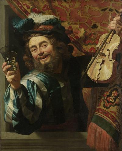 Gerard van Honthorst The Merry Fiddler