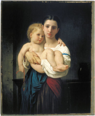 William-Adolphe Bouguereau Elder sister