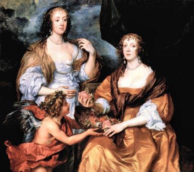 Antoon van Dyck Elizabeth Thimbleby and Dorothy Viscountess Andover