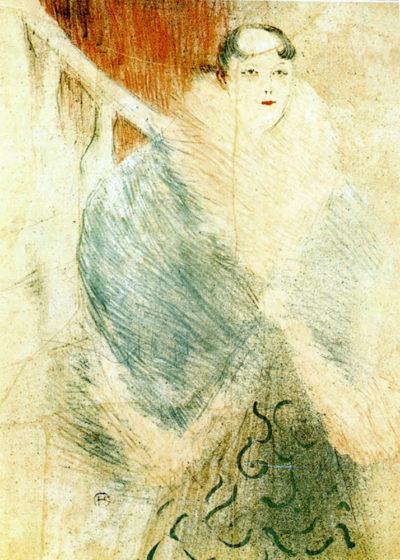 Henri de Toulouse-Lautrec Elsa dite la Liennoise
