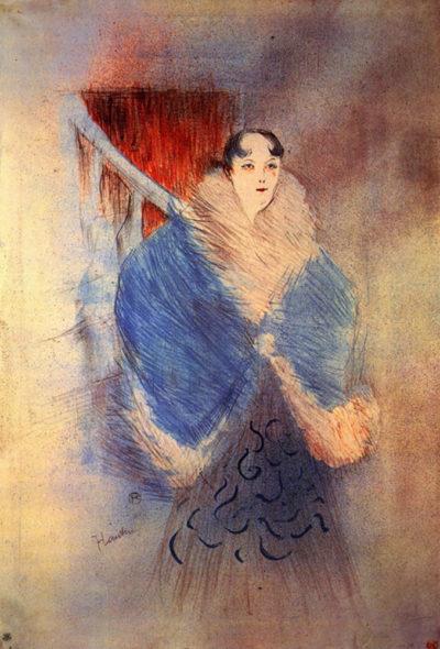 Henri de Toulouse-Lautrec Elsa