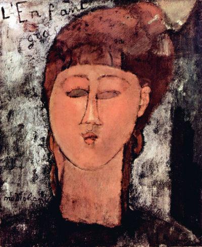 Amedeo Clemente Modigliani Enfant Gras