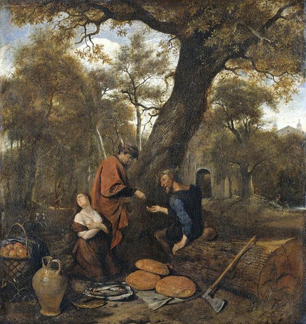 Jan Havicksz. Steen Erysichthon selling his daughter