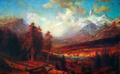 Albert Bierstadt Estes Park