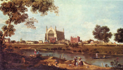 Canaletto Eton College