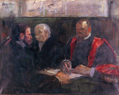 Henri de Toulouse-Lautrec Examination on the academy of medicin