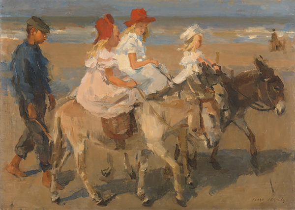 Isaac Israels Donkey Rides on the Beach