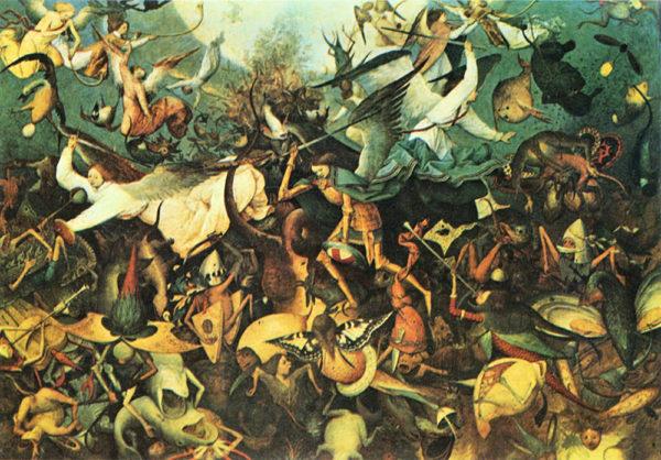 Pieter Bruegel Fall of the Angelsby