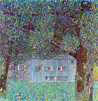 Gustav Klimt Farmhouse in Upper Austria