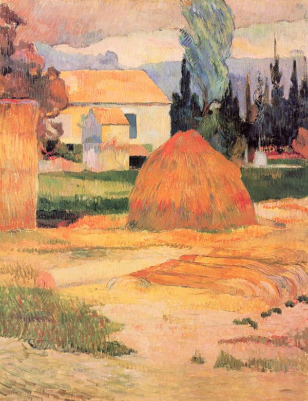 Paul Gauguin Farmhouses in Arles