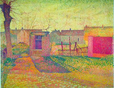 Henri Delavallée Farmyard