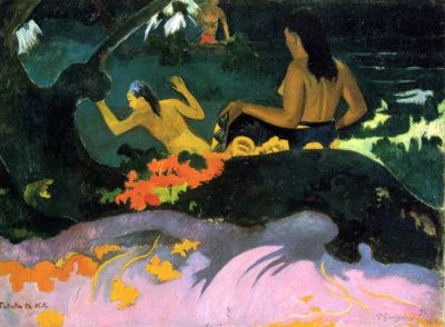 Paul Gauguin Fatata Te Miti