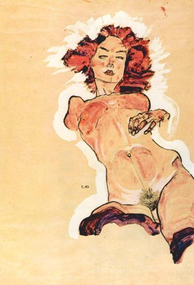 Egon Schiele Female Act