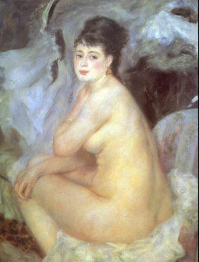 Pierre-Auguste Renoir Female Nude