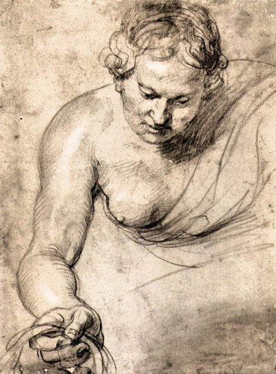 Peter Paul Rubens Female figure