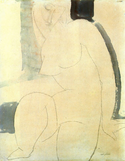 Amedeo Clemente Modigliani Female nude