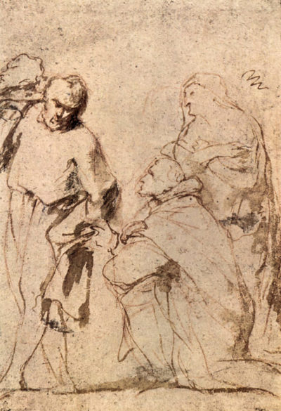Peter Paul Rubens Figure Study