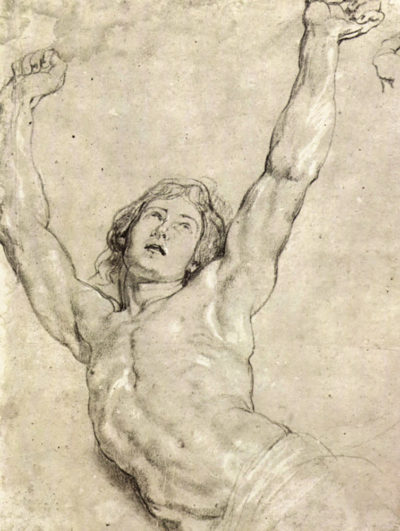 Peter Paul Rubens Figure Study of Christ