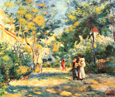 Pierre-Auguste Renoir Figures in the garden