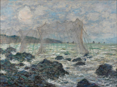 Claude Monet Fishing nets at Pourville