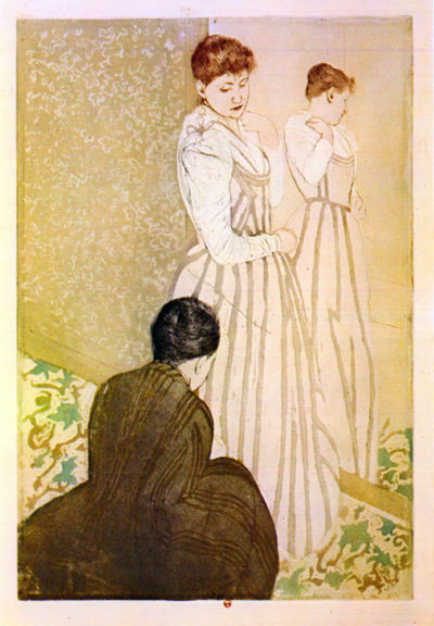 Mary Cassatt Fitting