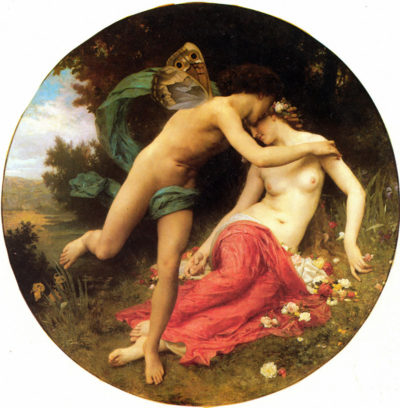 William-Adolphe Bouguereau Flora And Zephyr