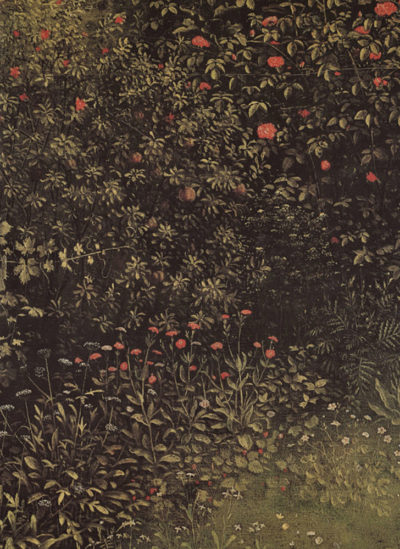 Jan van Eyck Flowering shrubs and plants