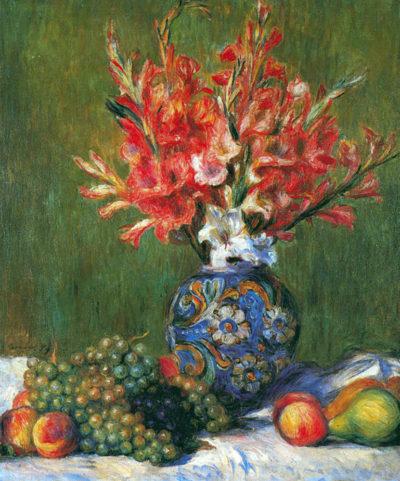 Pierre-Auguste Renoir Flowers and Fruit