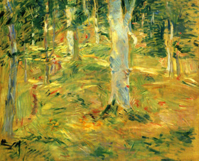 Berthe Morisot Forest of Compiegne