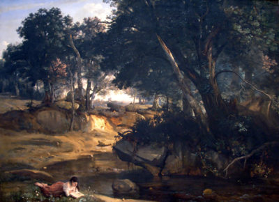 Jean-Baptiste-Camille Corot Forest of Fontainebleau