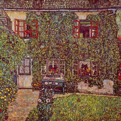 Gustav Klimt Forester's House in Weissenbach II