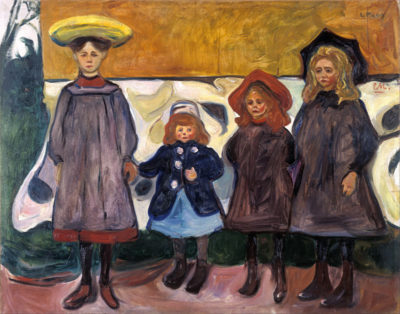 Edvard Munch Four girls