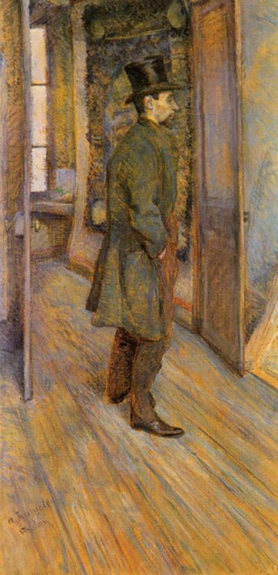 Henri de Toulouse-Lautrec Francois Gauzi