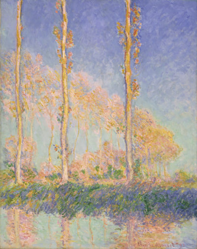 Claude Monet French Poplars