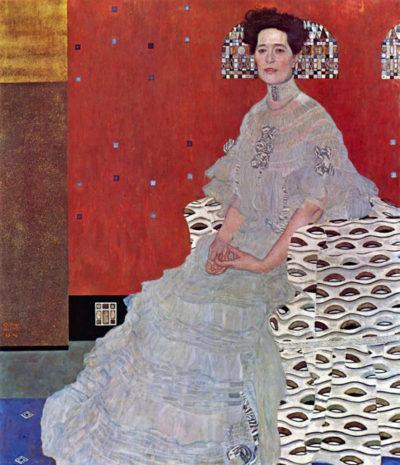 Gustav Klimt Fritza Reidler Klimt