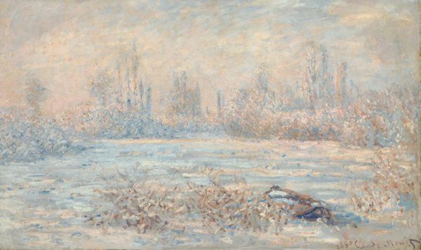 Claude Monet Frost