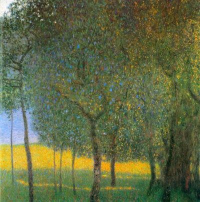 Gustav Klimt Fruit Trees