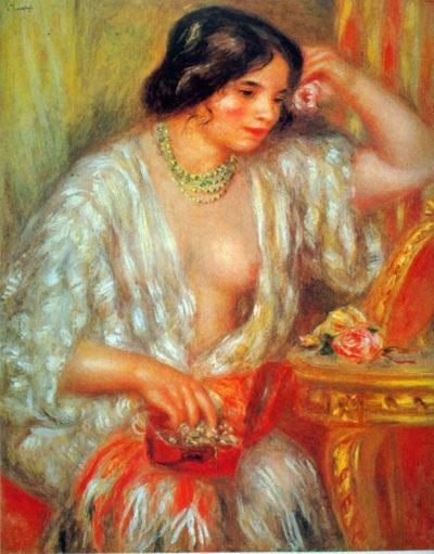 Pierre-Auguste Renoir Gabrielle