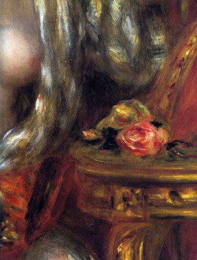 Pierre-Auguste Renoir Gabrielle with jewels