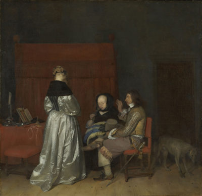 Gerard ter Borch (II) Gallant Conversation