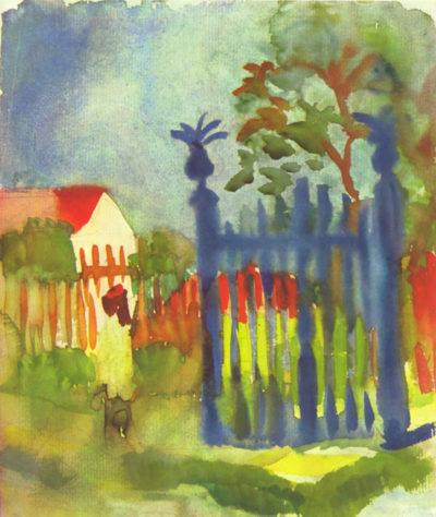 August Macke Garden gate