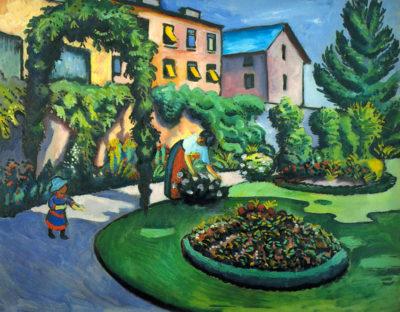 August Macke Garden image