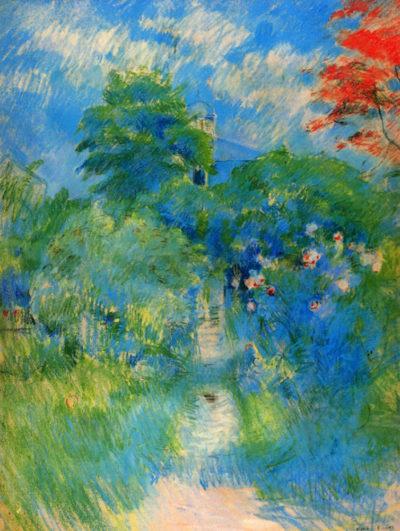 Berthe Morisot Gardenpath in Mezy