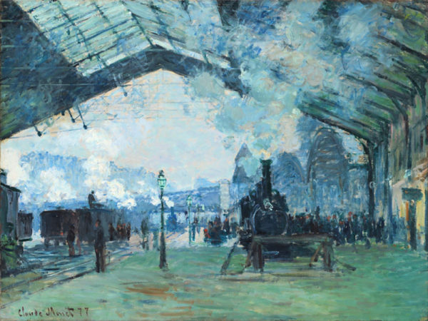 Claude Monet Gare Saint-Lazare