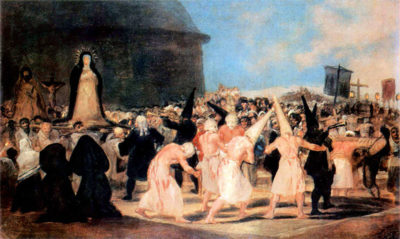 Francisco Goya Geissler procession
